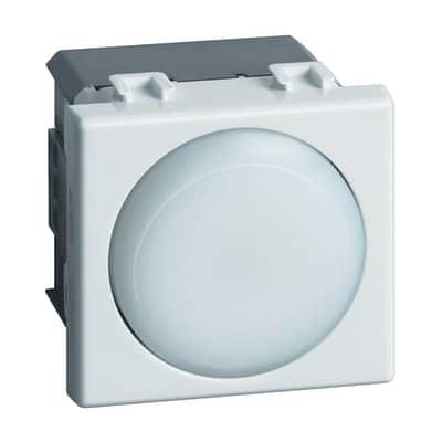 Torcia emergenza a LED estraibile BTicino Ricaricabile bianco