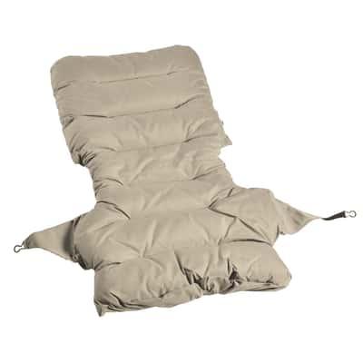 Cuscino beige 59 x 124 cm