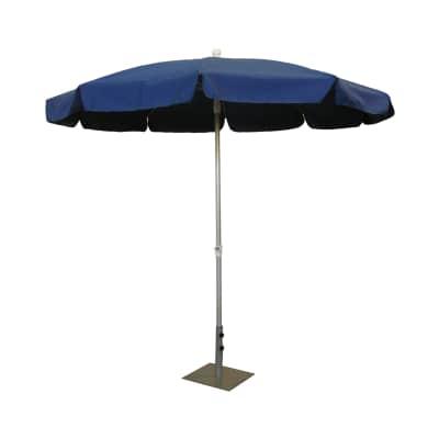 Ombrellone Ø 2,4 m blu