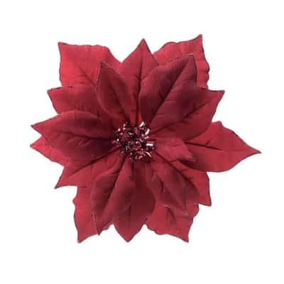 Poinsetia rossa 24 x 24 x 6 cm
