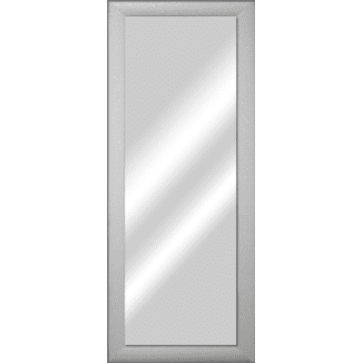 Specchio Da Parete Rettangolare Glitterata Bianco 42 X 132 Cm Prezzi