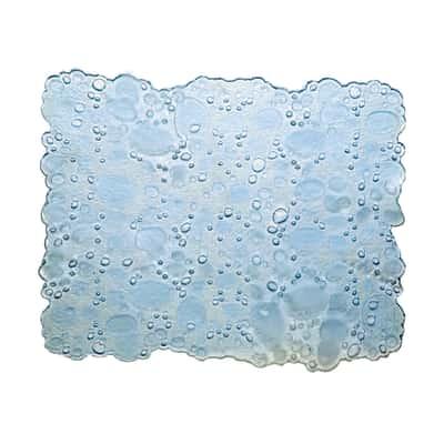 Tappetino lavello Drop trasparente L 31 x H 27 cm