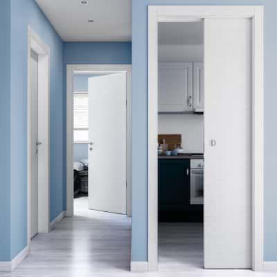 Porta da interno battente Kent 80 x H 210 cm reversibile