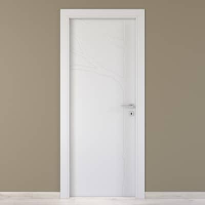 Porta da interno battente Wild bianco 70 x H 210 cm sx