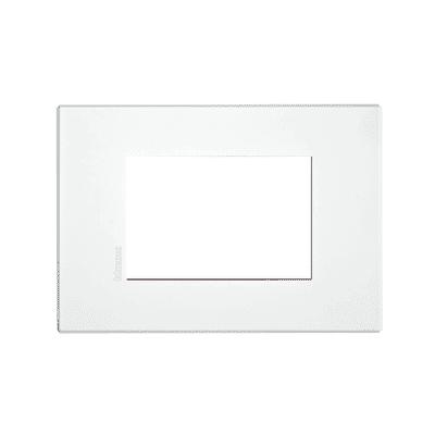 Placca BTICINO Axolute-Air 3 moduli personalizzabile