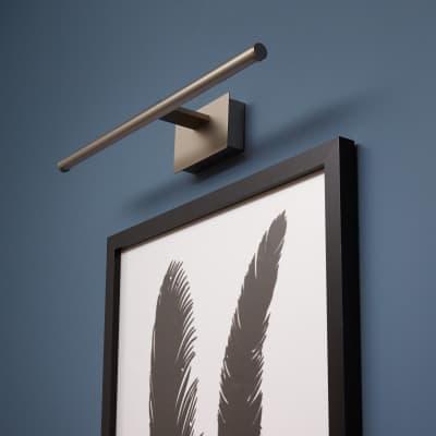 Applique moderno quadri Museio LED integrato , in alluminio, 39.2x39.2 cm, INSPIRE