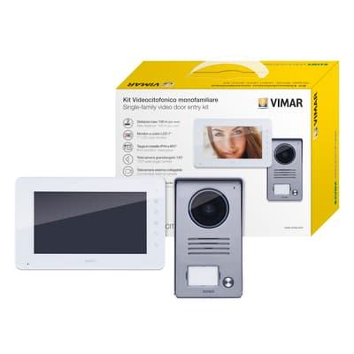 Videocitofono con filo monofamiliare  ELVOX VIMAR K40910  monofamiliare 2 fili
