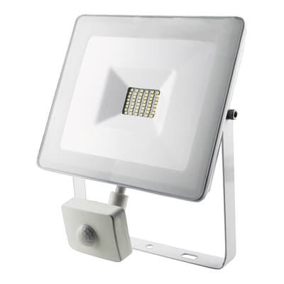 Proiettore LED integrato con sensore di movimento Sensor in alluminio, bianco, 30W 2400LM IP44