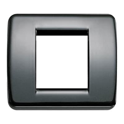Placca VIMAR Idea 2 moduli nero