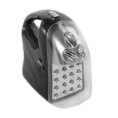 Lampada d'emergenza Anti black-out ricaricabile 16+3 LEDs 42 LM
