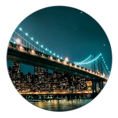 Sottopentola Brooklyn Bridge 20 x 0.8 x 20 cm fantasia
