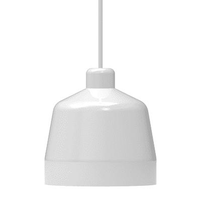 Lampadario Blo bianco, in metallo, diam. 25 cm, E27 MAX53W IP20 LUMICOM