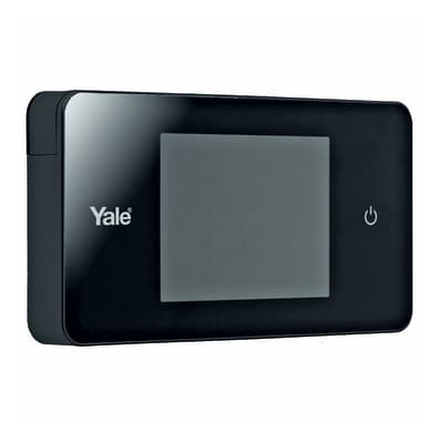 Spioncino digitale per porta blindata YALE Standard nero
