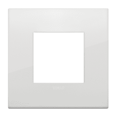 Placca VIMAR Arké 2 moduli polar