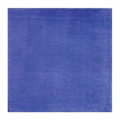 Piastrella per rivestimenti Patine 15 x 15 cm sp. 7.5 mm blu