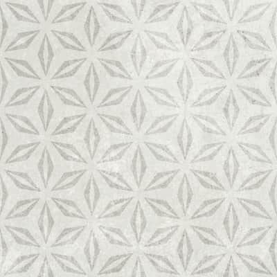 Piastrella per rivestimenti Kaza Mix 20 x 20 cm sp. 6 mm grigio