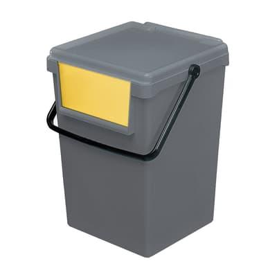 Pattumiera giallo 35 L