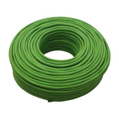 Cavo elettrico 1 filo x 2 mm² Matassa 100 m verde