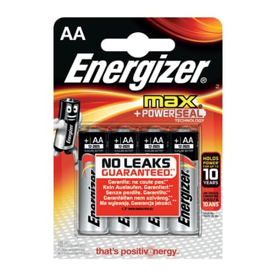 Pila LR06 AA 1.5 V ENERGIZER 4 batterie