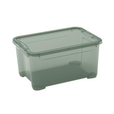 Contenitore L 38 x H 19 x P 26.5 cm verde