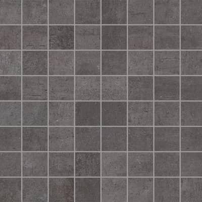 Mosaico Beton Black H 30 x L 30 cm nero