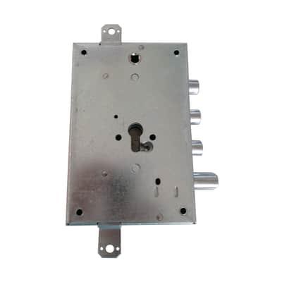 Serratura a incasso chiave per portoncino d'ingresso, entrata 6.3 cm, interasse 85 mm sinistra e destra