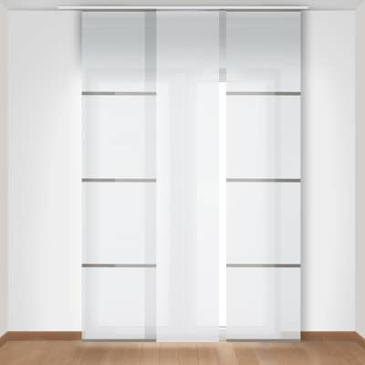 Pannello giapponese INSPIRE Japan bianco 60x300 cm