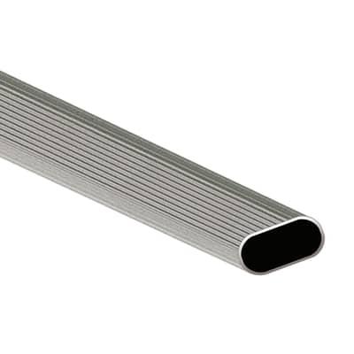 Tubo appendiabiti grigio / argento