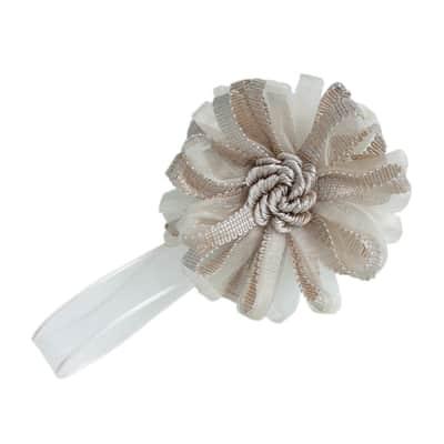 Calamita Fiore lurex beige