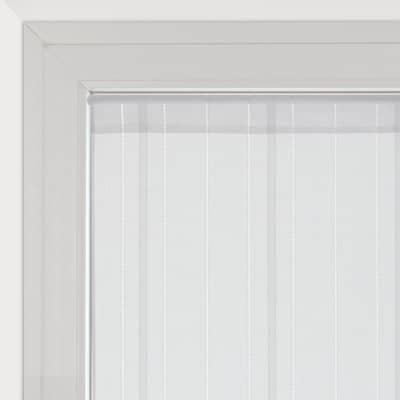 Tendina vetro Picasso bianco tunnel 45x240 cm