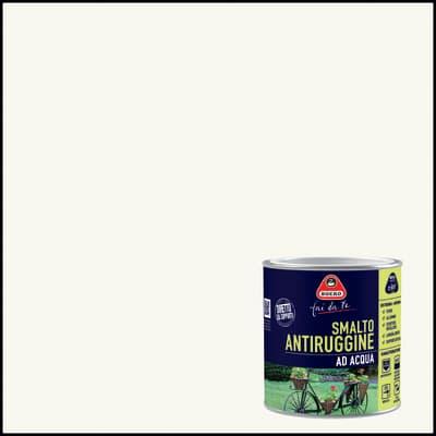Smalto antiruggine BOERO FAI DA TE bianco ghiaccio 0.5 L