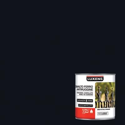 Smalto antiruggine LUXENS nero 0.75 L