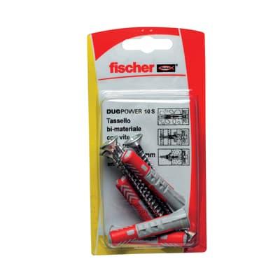 Tassello universale FISCHER Duopower - 537630, L 50 mm, Ø 8 mm, 4 pezzi