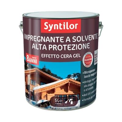 Impregnante a base solvente SYNTILOR noce chiaro 5 L