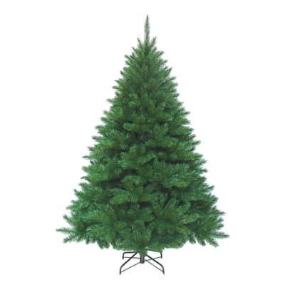 Albero di natale artificiale New King Pine verde scuro H 400 cm