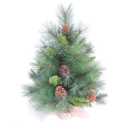 Albero di natale artificiale Marmolada verde H 60 cm,
