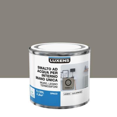 Smalto LUXENS base acqua marrone cioccolato 5 opaco 0,125 L