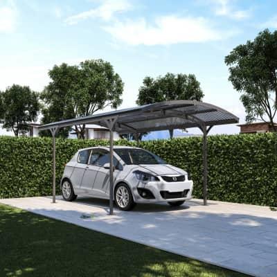 Carport in alluminio LuccaL 495  x P 288  x H 242