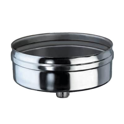 Scarico condensa Sacrico condensa Dn 80 mm in inox 316l (elevata resistenza in condizioni climatiche estreme)