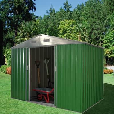 Casetta da giardino in metallo Varna 2.96 m² spessore 0.27 mm