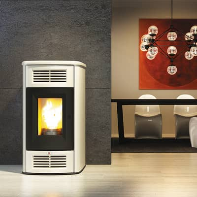 Stufa a pellet Beauty 12.7 kW avorio