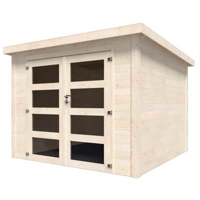 Casetta da giardino in legno Viola 5.96 m² spessore 28 mm