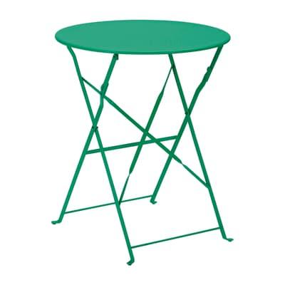 Tavolo Da Esterno Ferro.Tavolo Da Giardino Rotondo Color Con Piano In Ferro O 60 Cm Prezzi