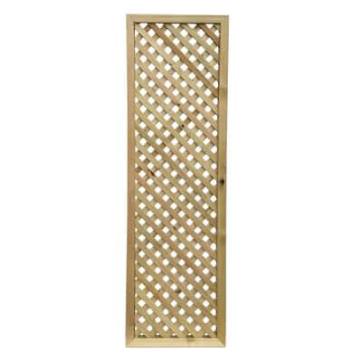Pannello reticolato in legno Maurice 60 x 180 cm