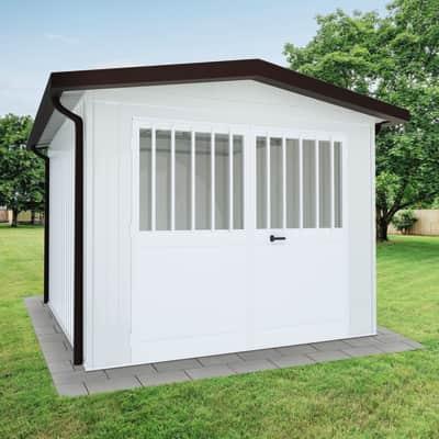 Garage in acciaio al carbonio Chicago SAPIL 14.92 m², Sp 40 mm