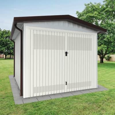 Garage in acciaio al carbonio Chicago SAPIL 9.78 m², Sp 40 mm