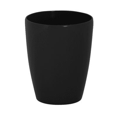 Vaso Orchidea ARTEVASI in plastica colore nero H 15 cm, Ø 12.5 cm