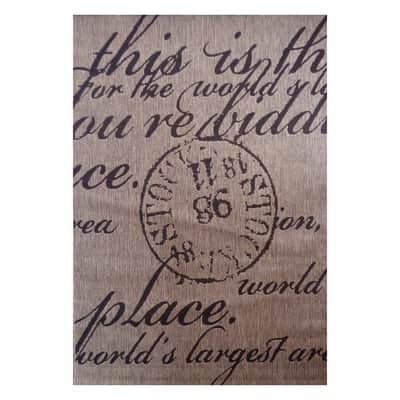 Tappeto Cottage poesia , multicolor, 133x190 cm