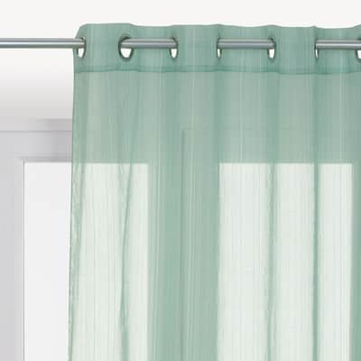 Tenda INSPIRE Lolita verde occhielli 140x280 cm