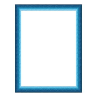 Cornice INSPIRE BICOLOR blu per foto da 20x25 cm